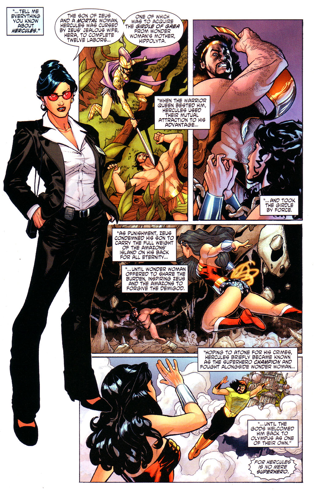 Read online Wonder Woman (2006) comic -  Issue #3 - 11