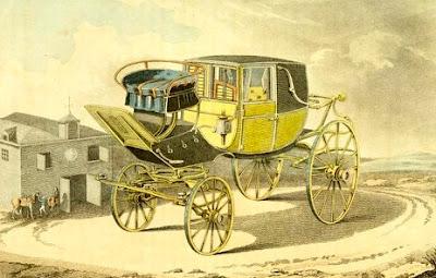 Elliott's patent eccentric laundaulet or chariot   from Ackermann's Repository (1809)