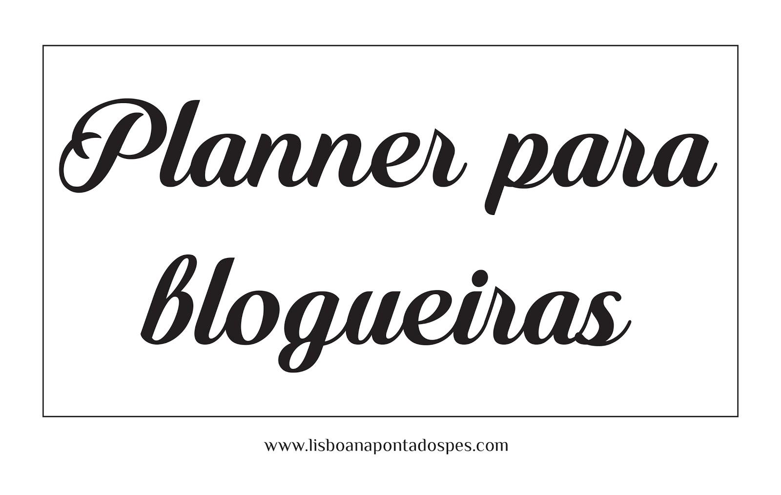 planner para blog