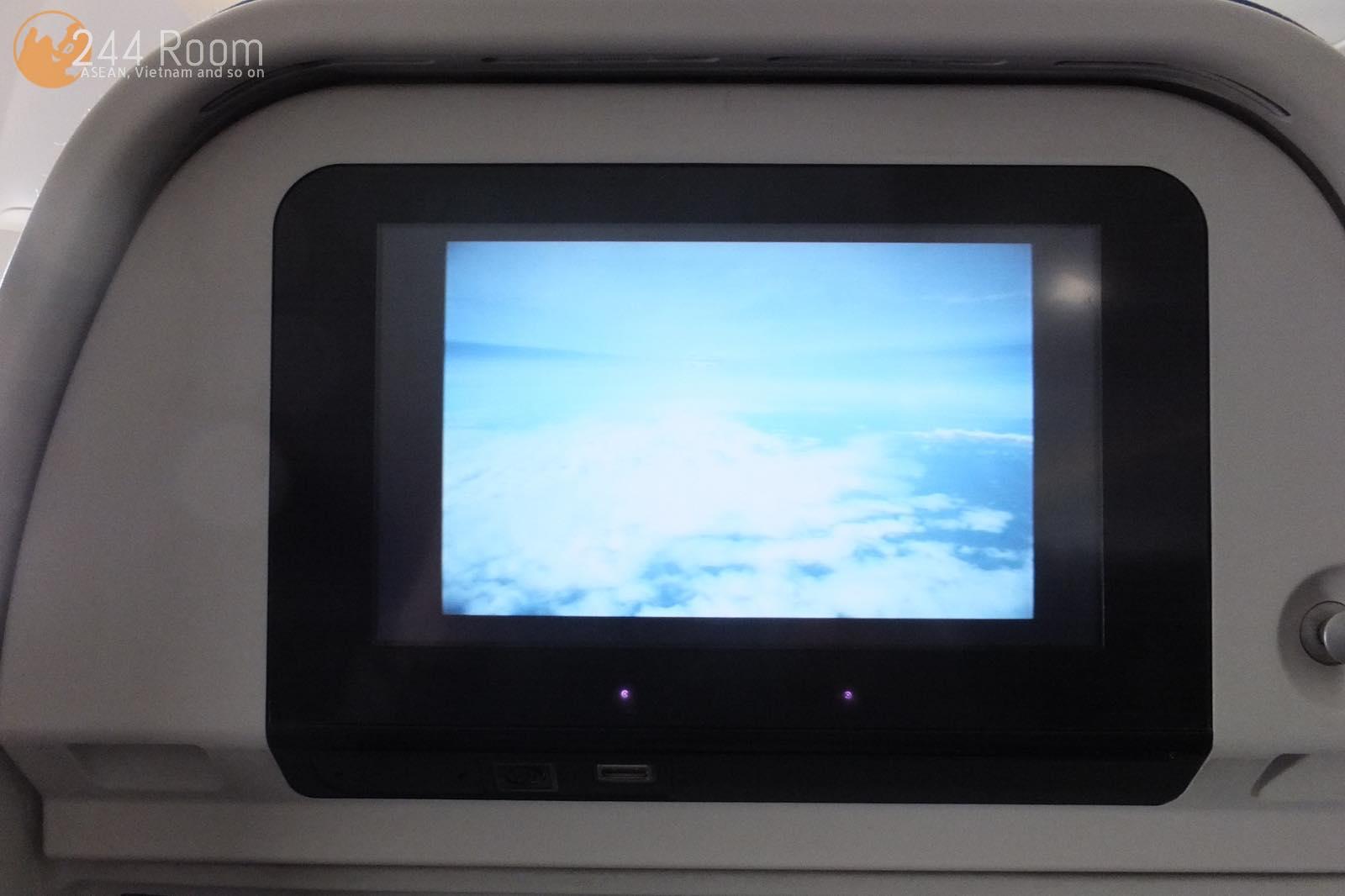 キャセイパシフィックエコノミー個人画面 CX-Economy-personal-monitor