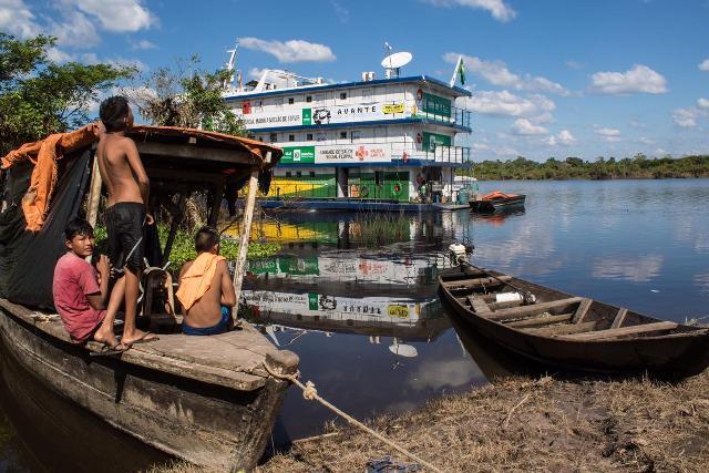 ONG Doutores Sem Fronteiras terá Barco Hospital para atendimentos após parceria do Governo de Rondônia