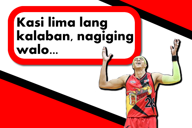 List of controversial statements of Arwind Santos in Game 3 against Ginebra