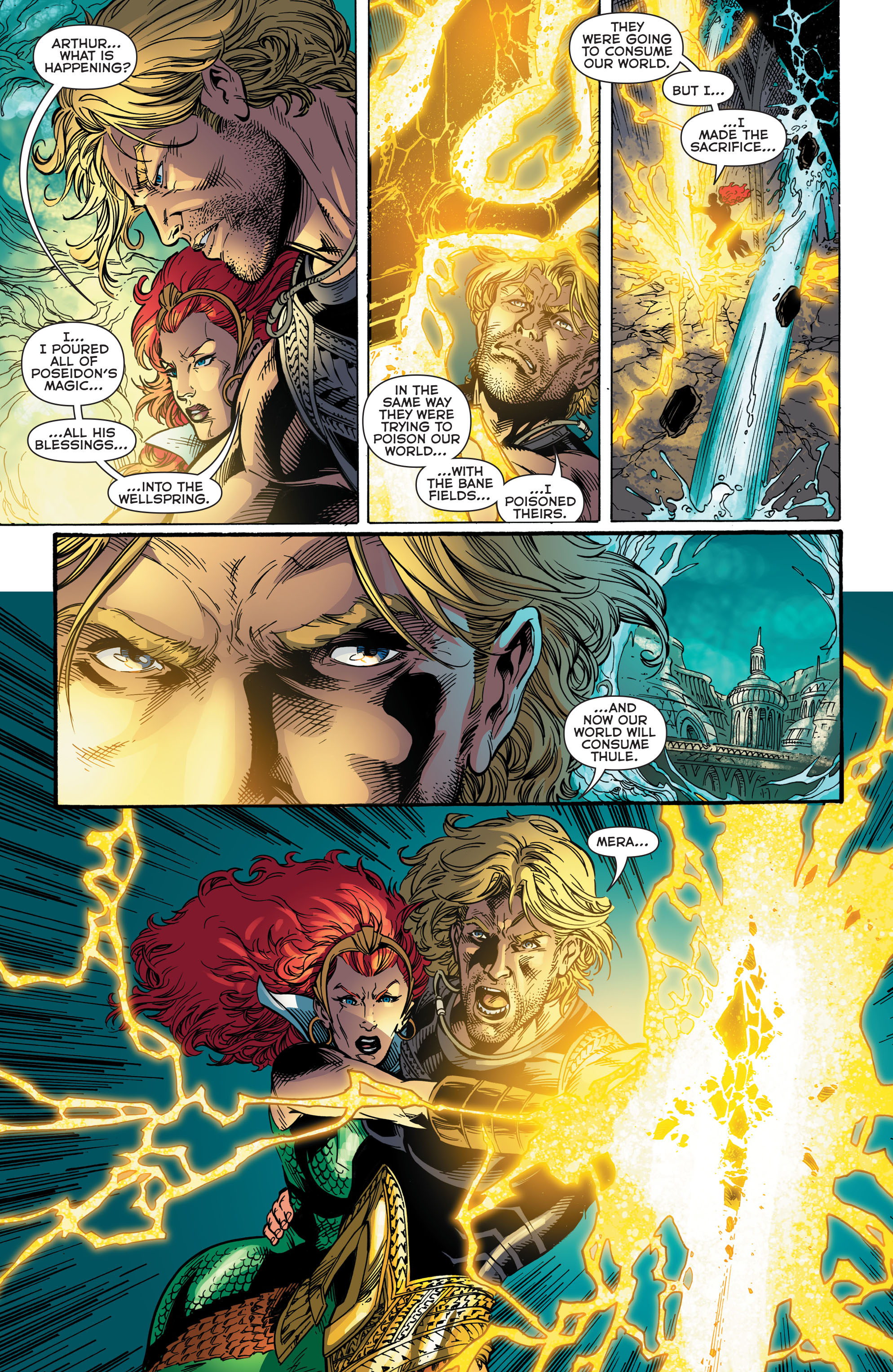 Read online Aquaman (2011) comic -  Issue #48 - 18