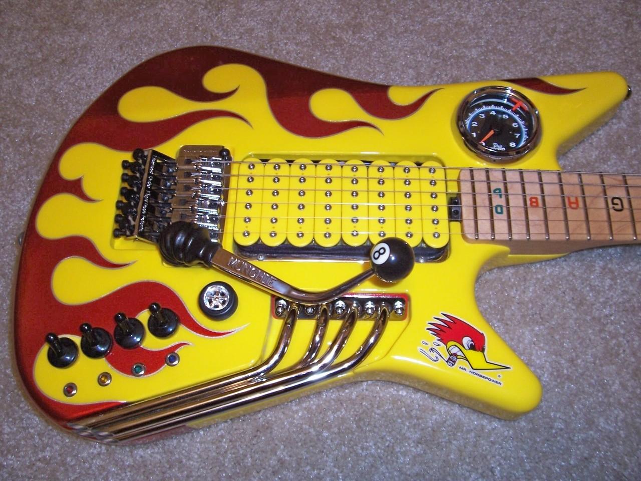 guitar review: Music man (Nigel Tufnel signature)