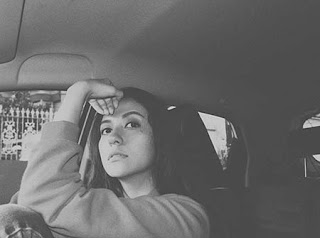 Aliyah Faizah di Mobil