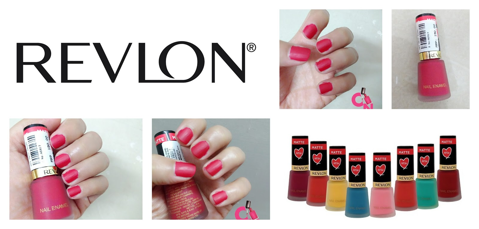 Revlon Matte Nail Polish Collection- Hot Matte: Review & Swatches