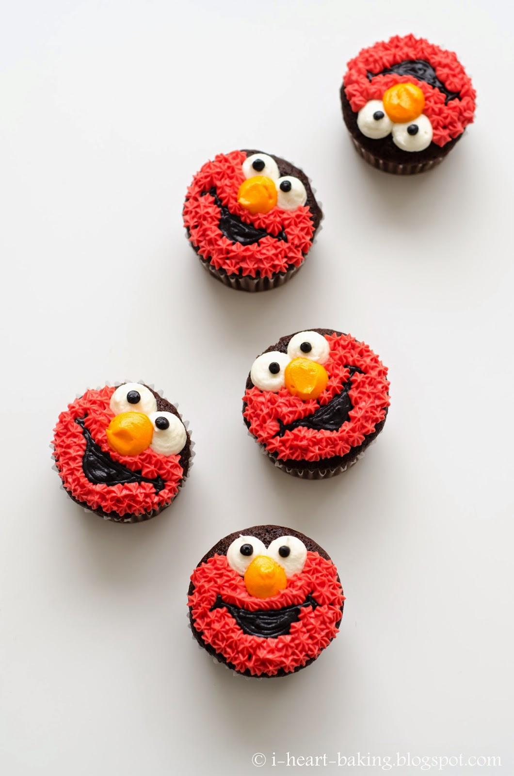 Elmo Cakes And Cupcakes
