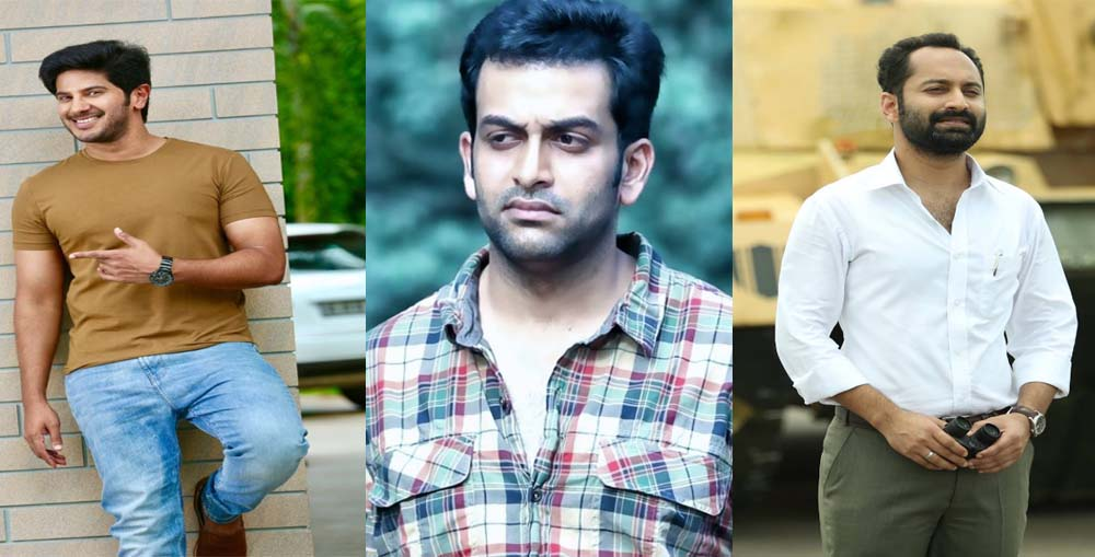 Dulquer Salmaan, Prithviraj, and Fahadh Faasil To Lock Horns This Eid!