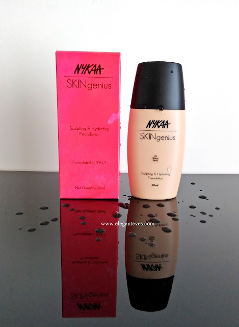 Nykaa skingenius foundation review warm sand