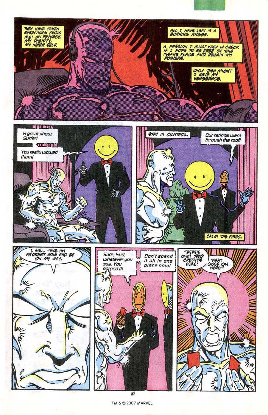 Read online Silver Surfer (1987) comic -  Issue #41 - 29