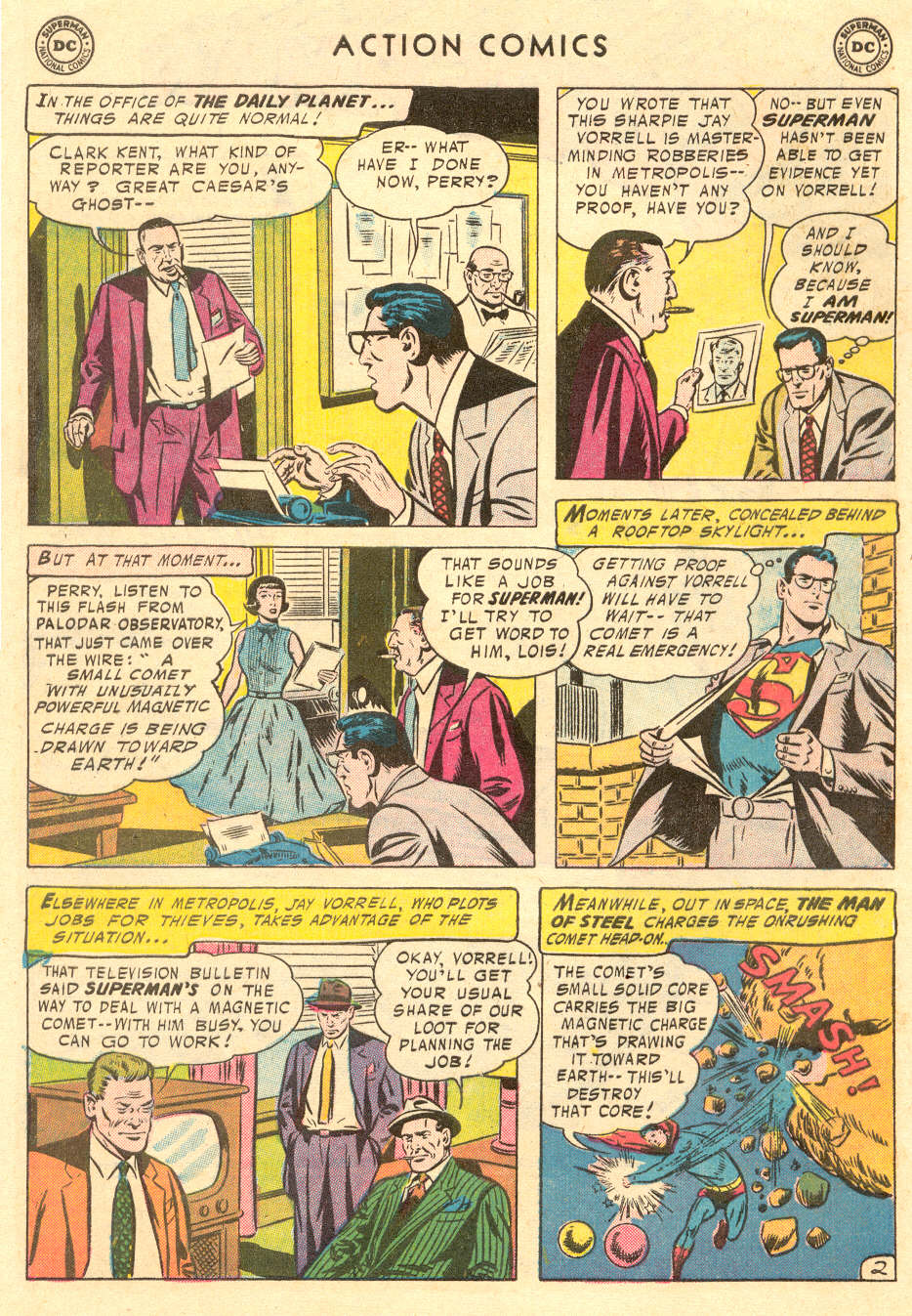 Read online Action Comics (1938) comic -  Issue #221 - 4