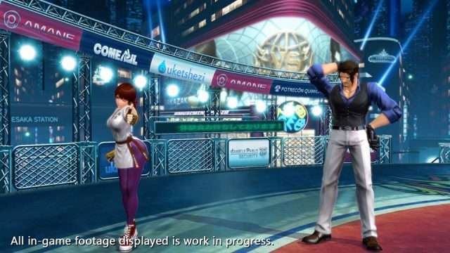 King of Fighters XIV yuri sakazaki character