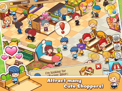 Screenshot Happy Mall Story: Sim Game Mod Apk Terbaru
