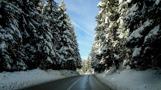 The only road between Tuzla to Sarajevo