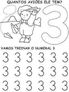 3 - Atividades com Números Educação Infantil