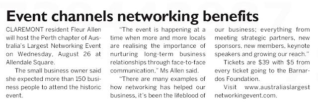 Article on entrepreneur, Fleur Allen - Achieving your goals