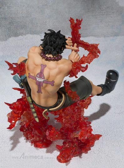 FIGURE PORTGAS D. ACE Battle Ver. Juujika Figuarts ZERO ONE PIECE BANDAI
