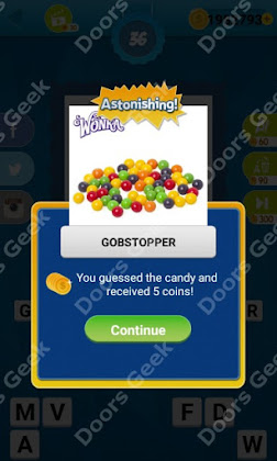 Answers, Cheats, Solutions for Guess the Candy Level 36 for android and iphone