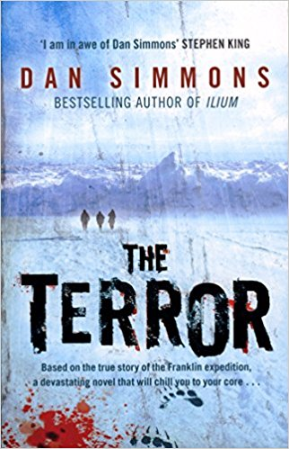 Book cover for Dan Simmons's The Terror in the South Manchester, Chorlton, and Didsbury book group