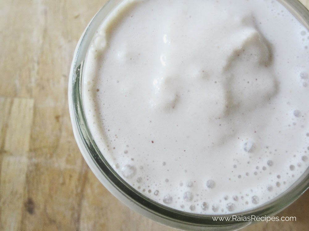 Peanut Butter Banana Smoothie | www.RaiasRecipes.com