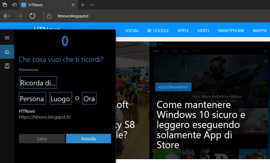 Ricorda-Cortana