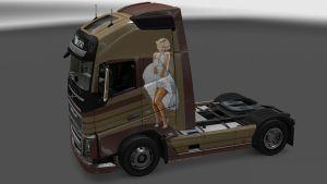 Pratty Woman skin for Volvo 2012