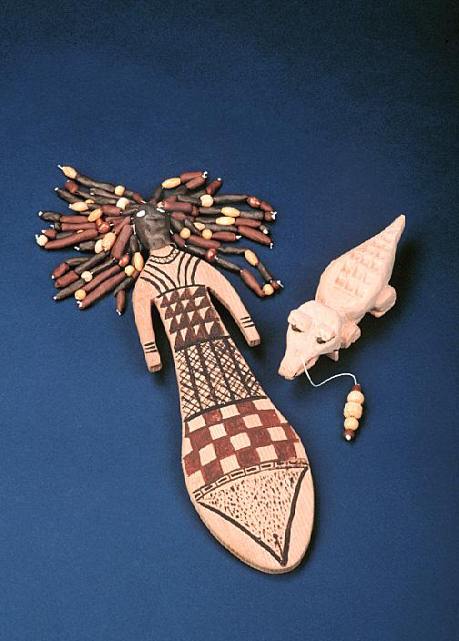 древняя кукла