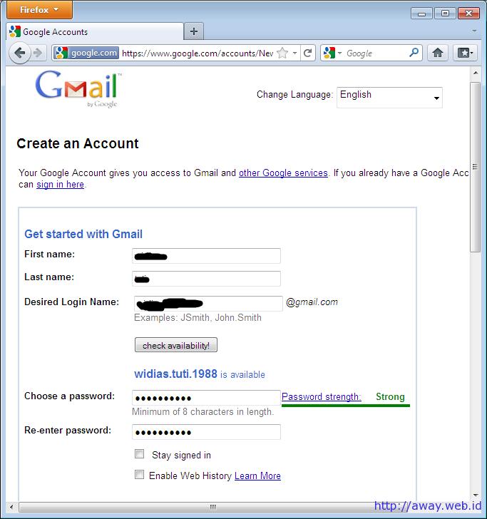 Cara Membuat Akun Gmail | Iphone Template