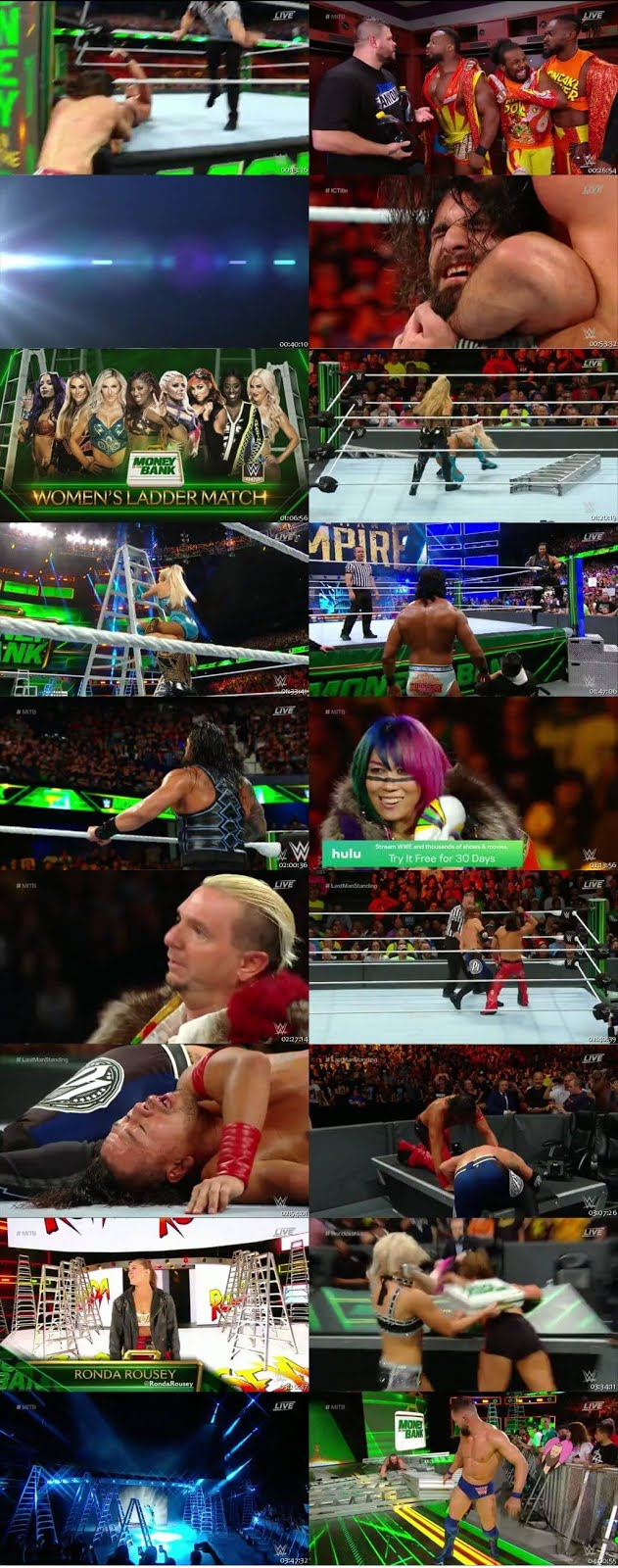 WWE Money In The Bank 17th June 2018 999MB PPV HDRip 480p x264 1