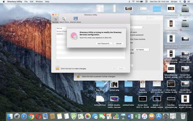 how to change administrator password on mac mini