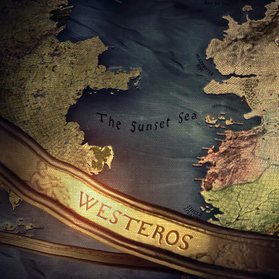 Westeros Map Game of Thrones Wallpaper Engine