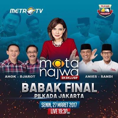 Senjata Makan Tuan Istilah Yang Tepat Untuk Anies Yang Pamer Kesombongan Di Debat Pilkada Jakarta 2017 Eksklusif Di Mata Najwa Metro TV