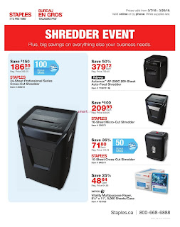 Staples Flyer Deals of the Week valid March 7 - 20, 2018
