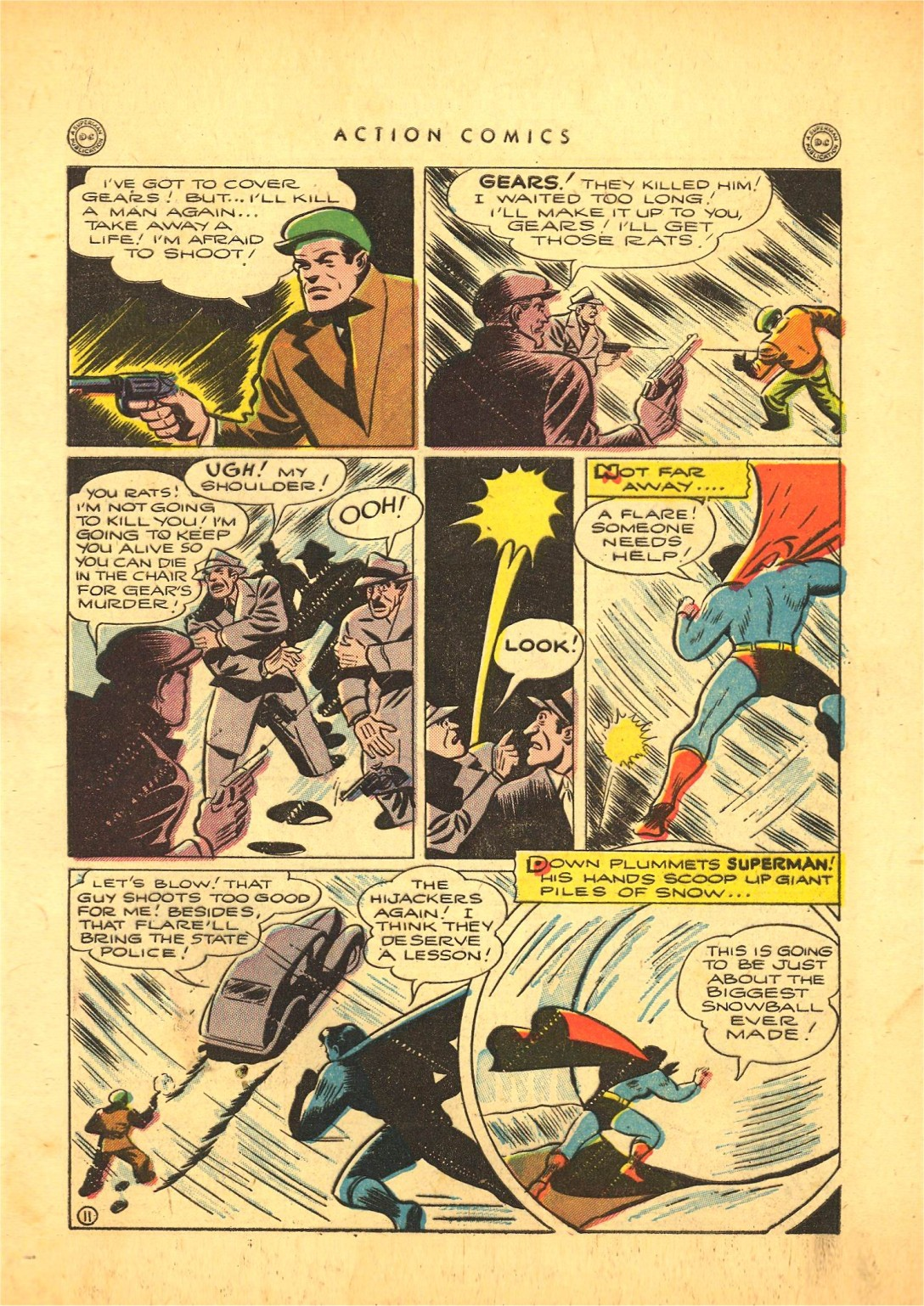Read online Action Comics (1938) comic -  Issue #87 - 12