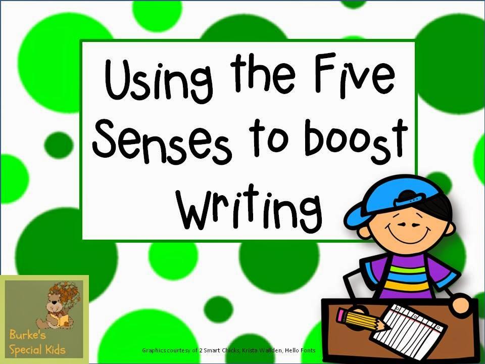 Descriptive language and using our senses   Descriptive writing lesson for kids