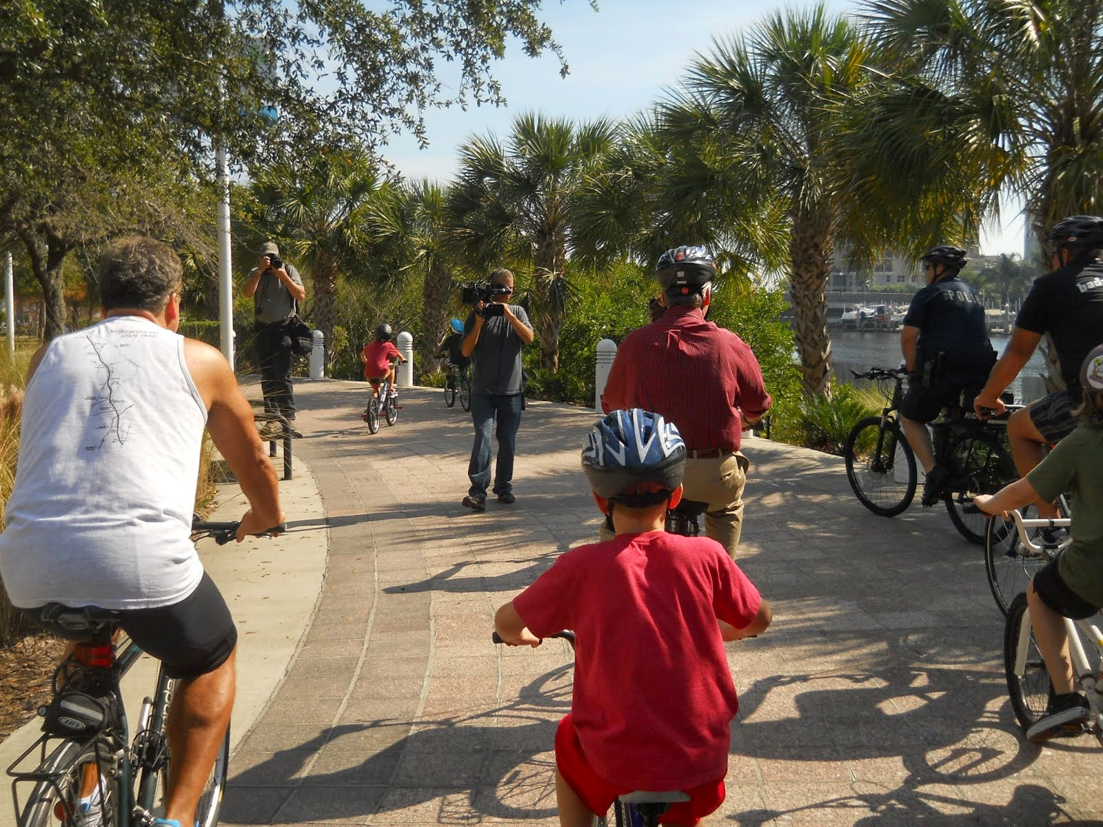 SWFBUD Pushes BAM Network -- 3 regional Paved Trails In A United Trail System
