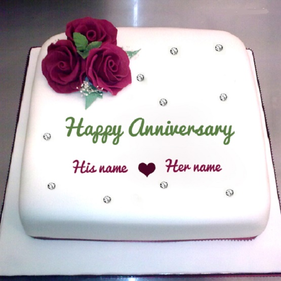 Wedding anniversary cakes pictures