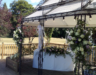 Outdoor Wedding Flowers Suffolk