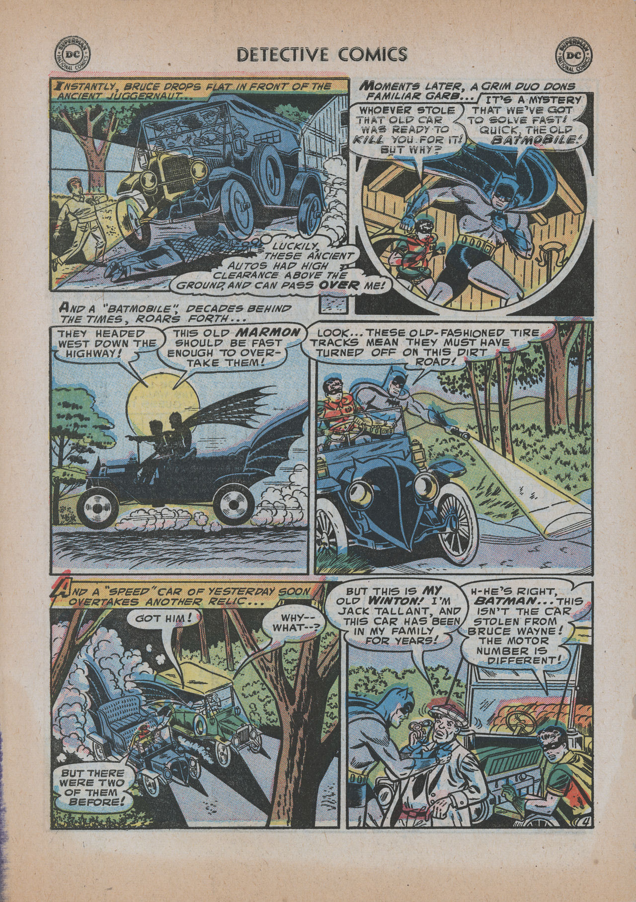 Read online Detective Comics (1937) comic -  Issue #219 - 6