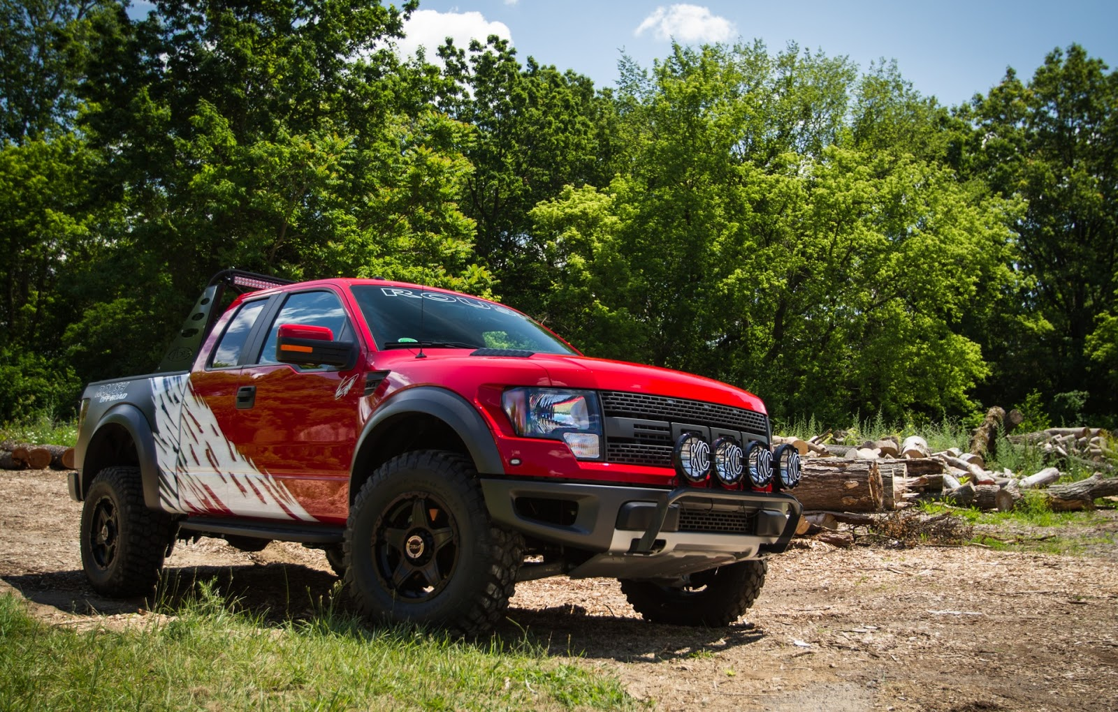 all tuning cars nz ford f 150 svt raptor 2013 by roush. Black Bedroom Furniture Sets. Home Design Ideas