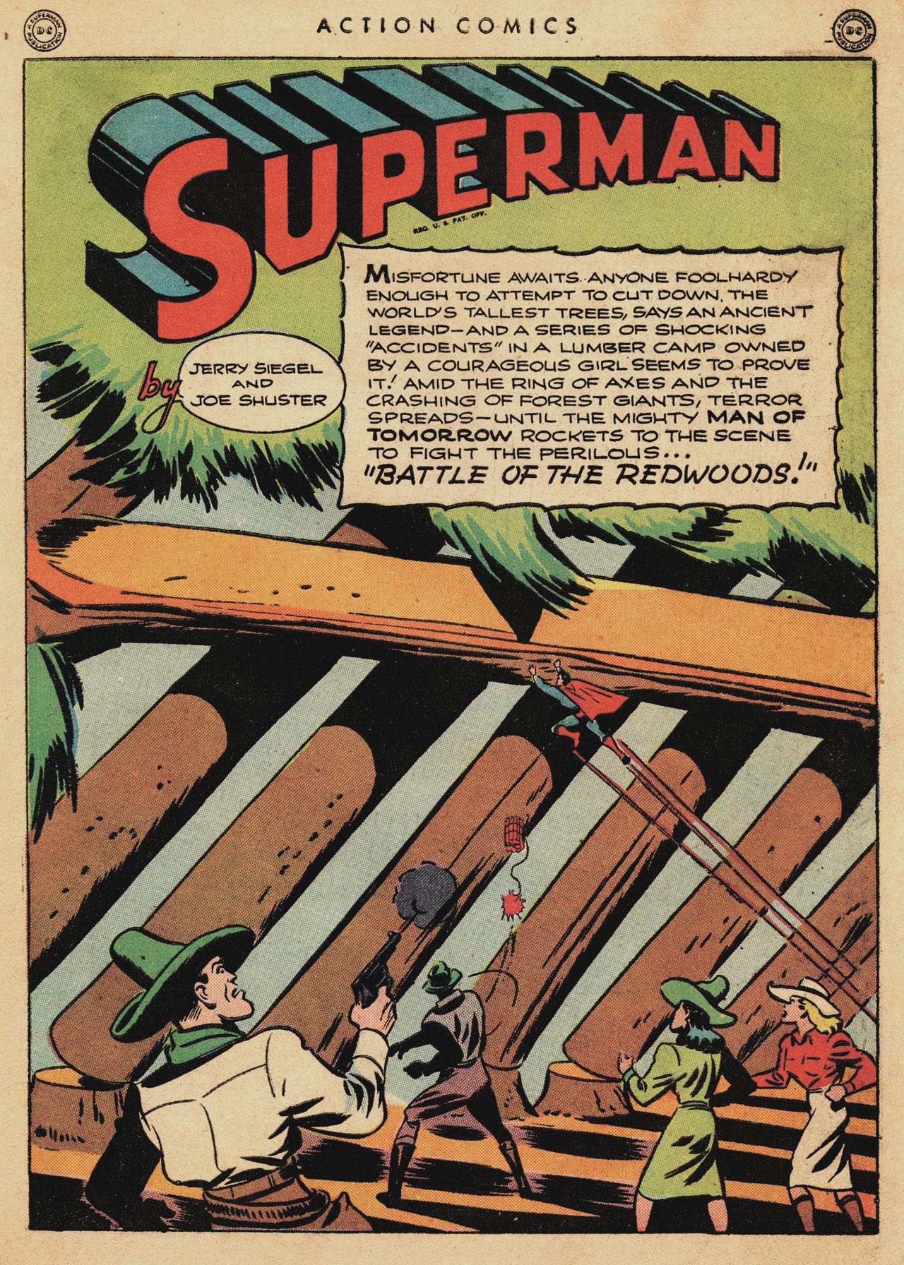 Read online Action Comics (1938) comic -  Issue #94 - 3