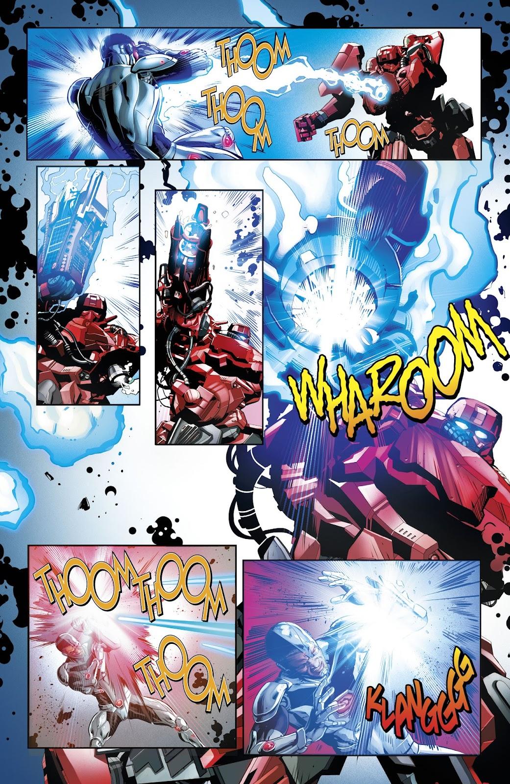 Read online Cyborg (2016) comic -  Issue #14 - 7