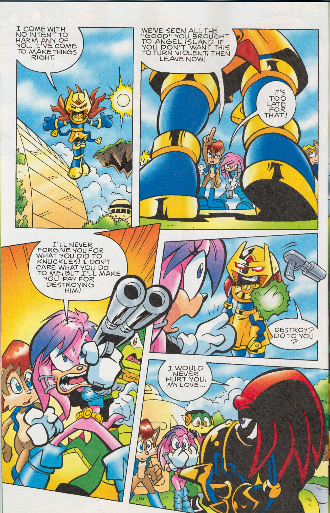 Read online Sonic The Hedgehog comic -  Issue #181 - 17