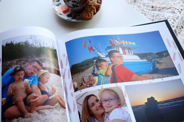 fotoksiążka ze wspomnieniami z wakacji, printu