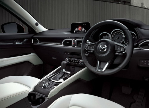 Interior New Mazda CX-5 2017