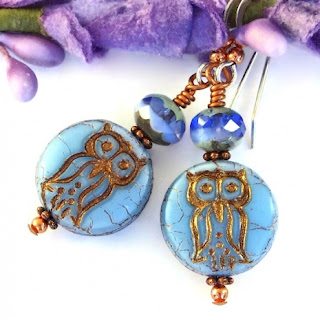 unique owl jewelry gift idea for her