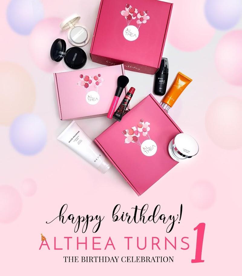 HAPPY BIRTHDAY ALTHEA - JOM SHOPPING