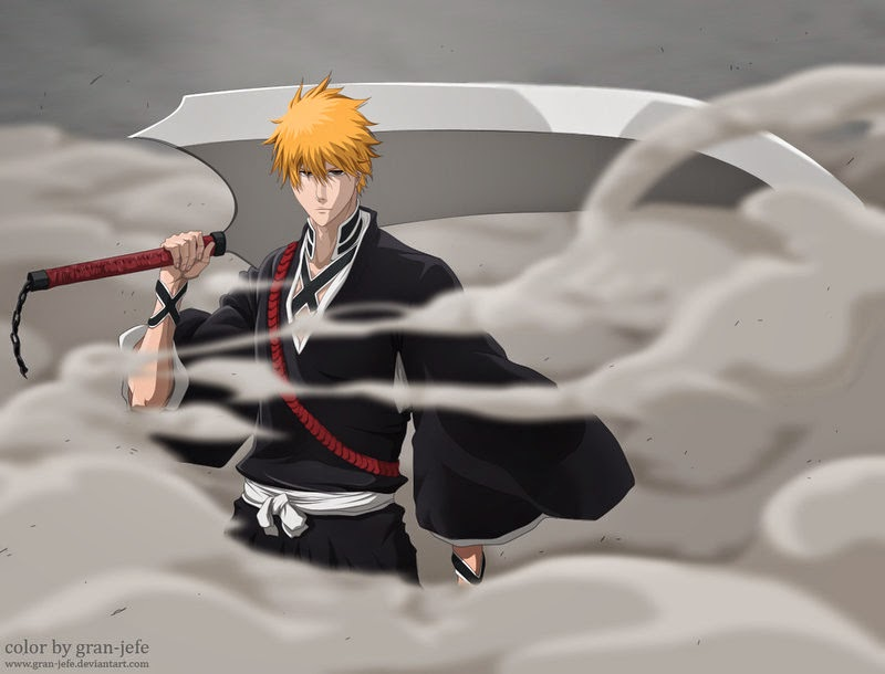 Wallpaper Fullbring+Shinigami Ichigo