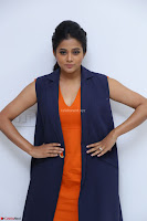 Priyamani in Beautiful Short Deep neck Orange Dress ~  Exclusive 51.JPG