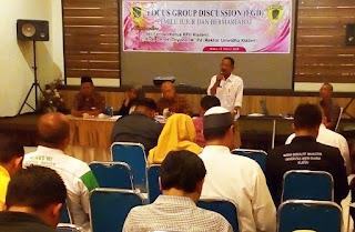 Tolak Kampanye Hitam Dan Politik Uang FKDM Gaungkan Pemilu Jujur danBermartabat